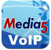 Media5-fone configuration on iPhone